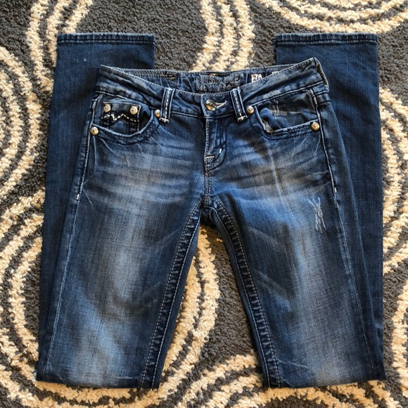 Miss Me Denim - Miss Me Straight Jeans JD1038T2